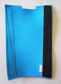 Sky or bright blue tailwrap